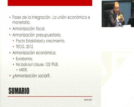 Máis alá da Unión Monetaria: a harmonización orzamentaria, fiscal e económica